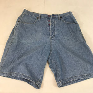 Firetrap Denim Shorts Button Fly Lightweight